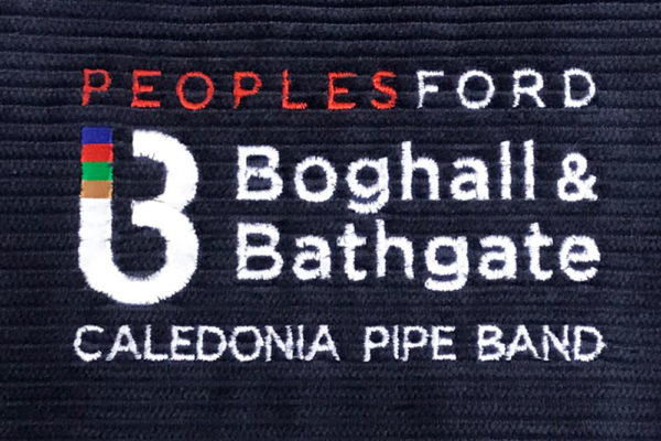 Boghall embroidery